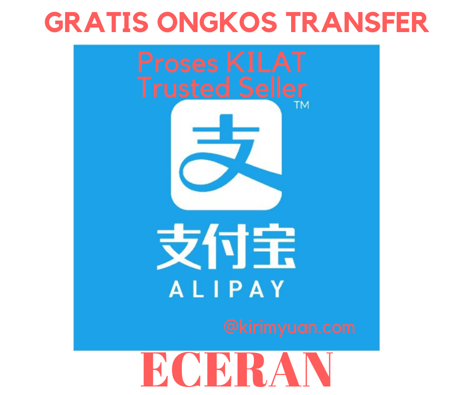 jasa TopUp Alipay Someone to pay 1688 taobao wechat pay
